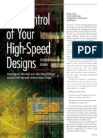 Art Control High Speed Designs