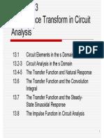Laplace Analysis