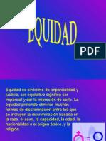 Presentación EQUIDAD