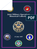 Joint Military Operations Historical Collection