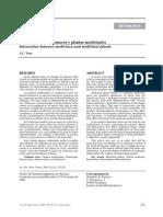 Interacciones Entre Farmacos y Plantas Medicinales