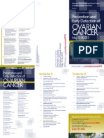 Cme Ovarian Cancer Agenda 2013 05-13-14