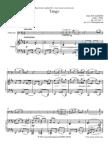 Albeniz Op165-2 Tango - Partitura Cello Y Piano
