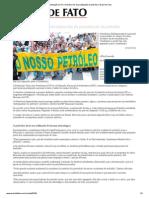 Manifestação no Rio reivindica fim da privatização do petróleo _ Brasil de Fato