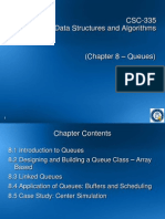 01 CSC335 Chapter8 (Queues)
