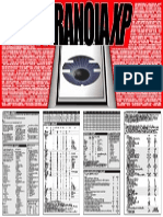 Paranoia XP - Gamemaster Screen (MGP6631)
