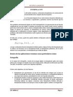 Metodos de Integracion Polinomial