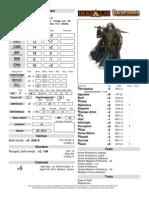Jerrick-Character Sheet