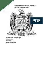 Universidad Autonoma de Zacatecas
