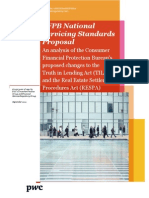 Pwc Cfpb National Servicing Standards Proposal
