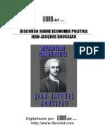 ROUSSEAU JACQUES - Discurso Sobre Economia Politica