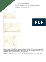 Triângulos (Exercícios)