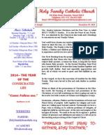 hfc december 29 2013 bulletin 1