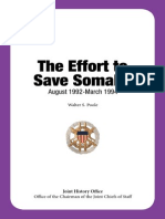 Operation Save Somalia History