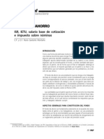 Fondo de ahorro. ISR, IETU, salario base de cotización e impuesto sobre nóminas
