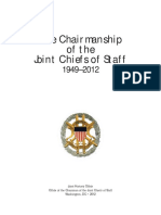 Joint Chiefs of Staff Chairman History