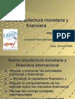 Nueva Arquitectura Monetaria y Financiera- Ponsot
