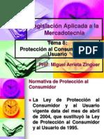 LAM Tema 8 (Protección del Consumidor y del Usuario)