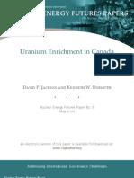 Uranium Enrichment in Canada