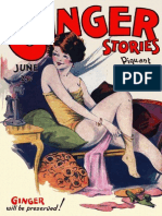 Ginger Stories June 1929 Pulp Magazine