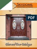 Skydome Windows and Doors Catalogue