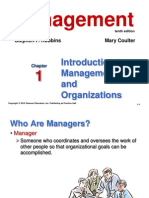 9erobbins_PPT01 Introduction to Management and Organizations