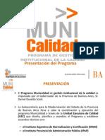 Presentacion Municalidad  institucional 2012