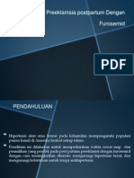 Manajemen Preeklamsia Postpartum Dengan Furosemid