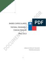 Historia Geografia y Ciencias Sociales