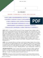 GLEE - Gnose - Glossário