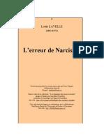Lavelle, Louis - L'Erreur de Narcisse