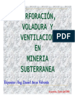 PERFORACIÓN,VOLADURA Y VENTILACION EN MINERIA SUBTERRANEA.pdf