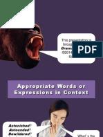 Wordchoice - Grammar Bytes - Lab Lesson