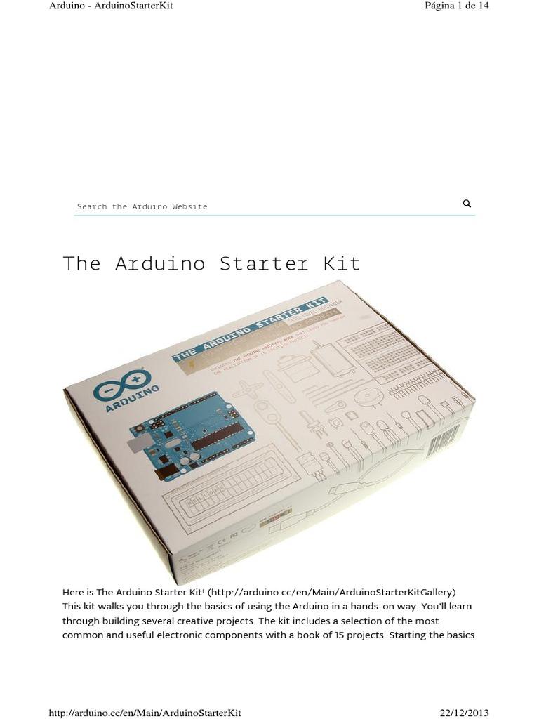 Arduino Starter Kit | Resistor | Arduino