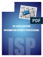 Brochure for Information Security Professional Course