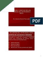 Material Fourcade_Origen y Destino de Los Rubros Del Patrimonio Neto