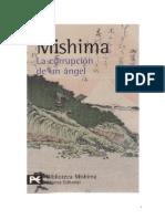 Mishima, Yukio - El Mar de la Fertilidad 04 - La Corrupción de un Ángel [doc]
