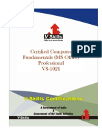 Computer Fundamentals Certification