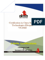 Drupal Certification
