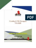 CSS Designer Certification