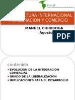 Arquitectura Internacional, Integración y Comercio - Chiriboga