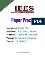 Paper Practico (Teoria Circuitos)