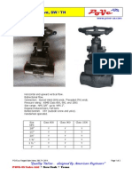 POVE-Us Forged Gate Valve, SW,TH 2014