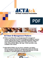 ACTAtek Training ACTA3 in Depth