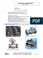 MIGZ ForgedSteel Ball Valve 2014