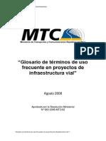 CAMINOS I Glosaio Word - Copia (1)