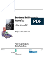 Fraunhofer - Experimental Modal Analysis