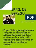 PERFIL DE EGRESO