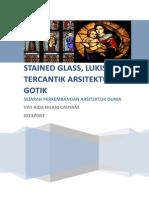 Arsitektur Gotik, Stained Glass