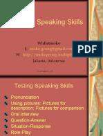 Testing Speaking